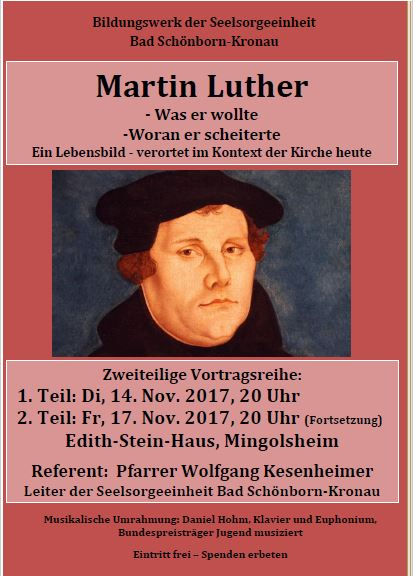 Vortragsreihe Luther